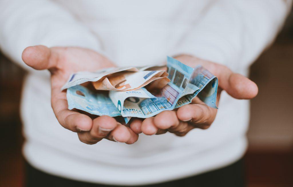 billets ou argent de poche