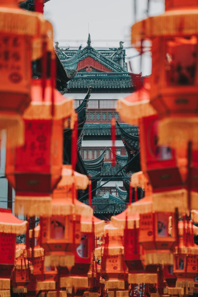 temple en chine